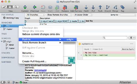 git tutorial html5 tutorial git and github source tree ii branching