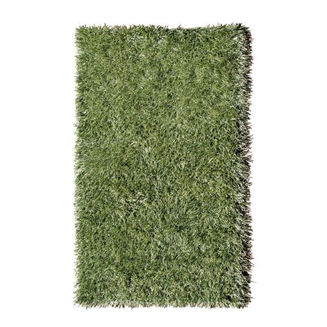 grass rug filament design grazing in the grass green 5 ft x 8 ft indoor area rug 25150d the home depot