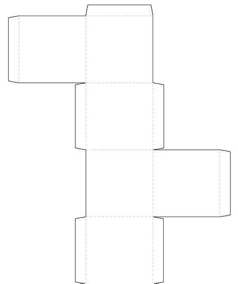 print templates free free coloring pages printable box template free images