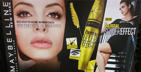 Maybelline New Nouveau spotted new maybelline volum express the colossal spider