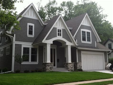 grey house siding exterior house color schemes barrier exteriors minnesota home siding exterior