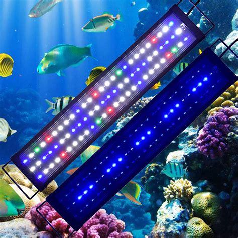 spectrum led aquarium light spectrum reef coral marine fish tank light 55 115cm