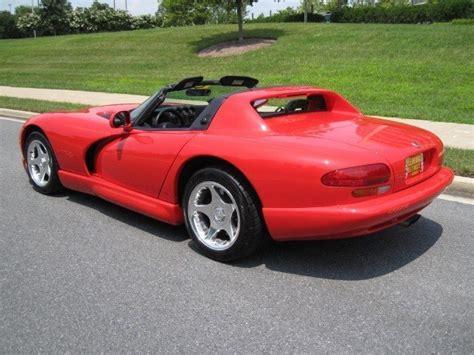 1998 dodge viper 1998 dodge viper for sale to buy or