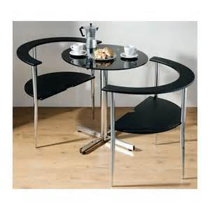 3pc black glass dining table set with 2 chairs the
