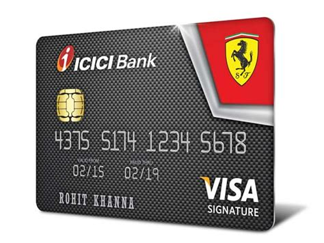 Icici Gift Card Benefits - ferrari credit cards launched in india by icici bank drivespark