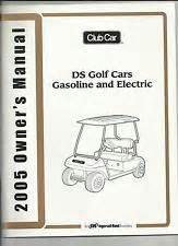 club car owners manual 2011 precedent electric gas ebay