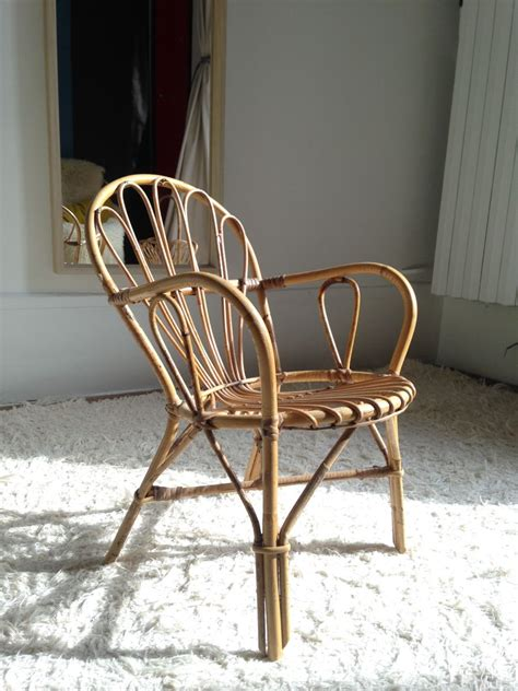 chaise rotin enfant chaise enfant en rotin luckyfind