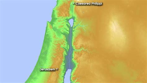caesarea philippi map caesarea philippi storming the gates of hell part 1