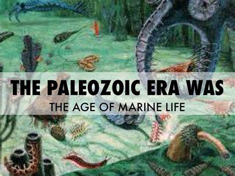 the era paleozoic era 8th grade science