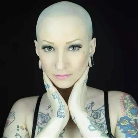 girls with tattoos naked 1000 images about bald dreads piercings and a few