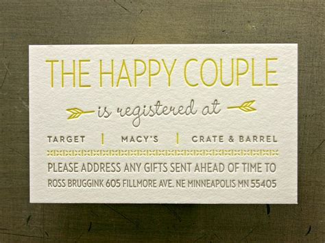 Wedding Registry Free Gifts by 8 Best Images Of Free Printable Wedding Registry Inserts