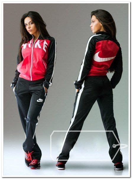 hood babes sweat suit red white 99828 at hoodboyz sportswear tracksuit stylish ladies black and coral zip