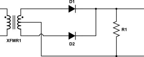 full wave rectifier vs full wave bridge rectifier