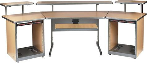 Raxxess Config U Raxx System 1 Maple Sweetwater Com Raxxess Studio Desk