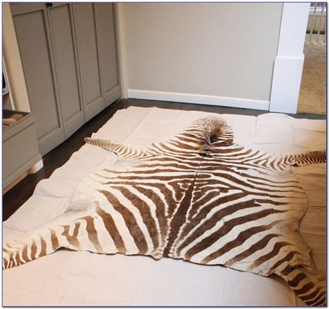 diy zebra rug faux zebra rug diy rugs home design ideas ojn3wmlnxw60060