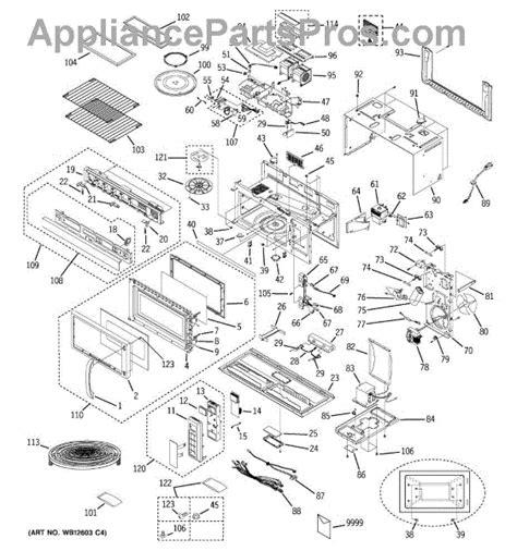 ge microwave parts diagram parts for ge jvm1861sf001 microwave parts