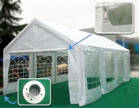 gazebo garage 26x13 wedding tent carport garage canopy gazebo ebay