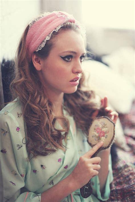 flannel bow headband flannel bow hair wrap boudoir make flannel spa turban headband boudoir flannel headband by