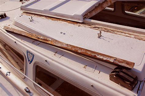 quot chip ahoy quot the teak trim refinishing project - Refinishing Teak Boat Trim
