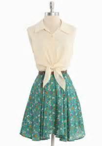 Spring crossings belted dress by reverse modern vintage dresses