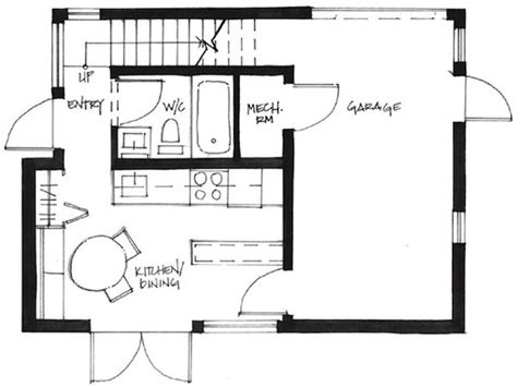500 sq ft cottage plans 500 sq ft tiny house floor plans house plans less than 1000 sf
