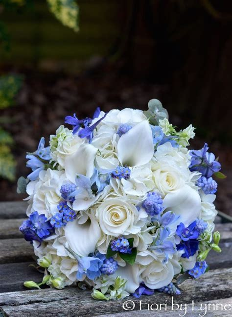 Blue Wedding Flowers Pictures by Blue Flowers For Weddings Best 25 Blue Wedding