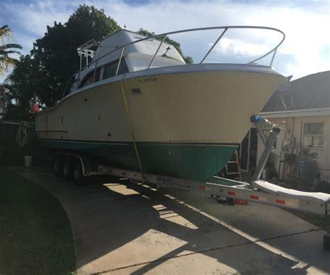 used boats jupiter fl 33 foot concord sport fisherman 33 foot fishing boat in