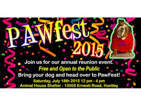 animal house huntley animal house shelter s pawfest 2015 huntley il patch
