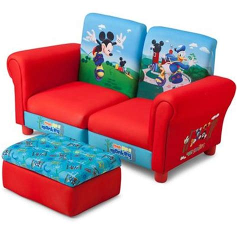 mickey mouse clubhouse sofa delta c canap 233 club et repose pied mickey mouse disney