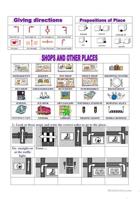 map uk get direction push and pull worksheet free esl printable worksheets