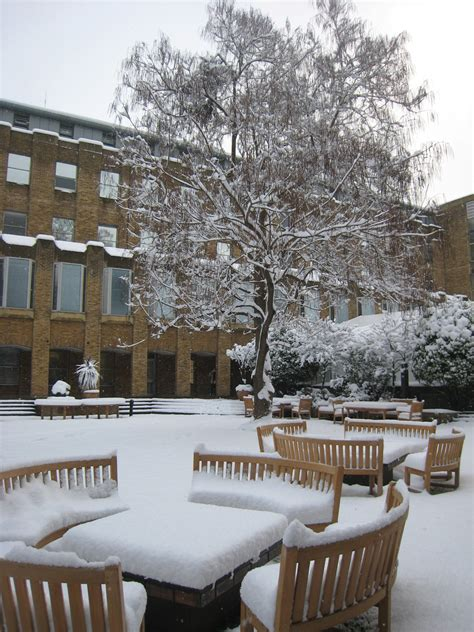 Lbs Mba Dates by File Business School Snow Courtyard Jpg Wikimedia