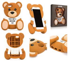 Iphone 6 4 7 italy moschino 3d bear case cover fr end 5 2 2016 8 15