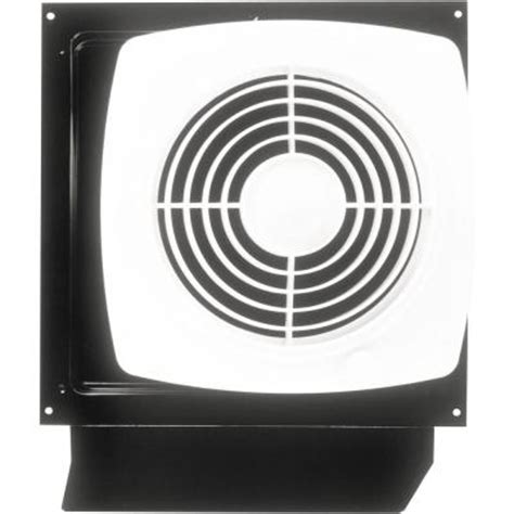 null 180 cfm through the wall exhaust fan with on switch