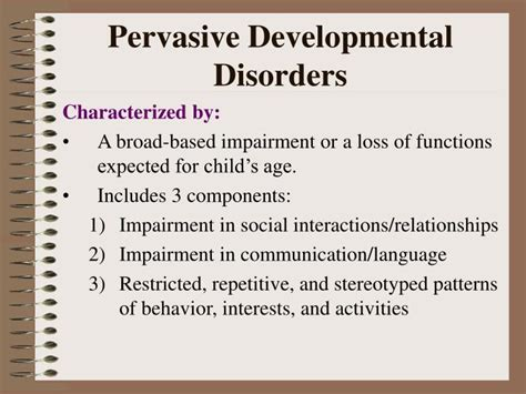 expected pattern of language and communication development ppt disorders usually 1 st diagnosed in infancy