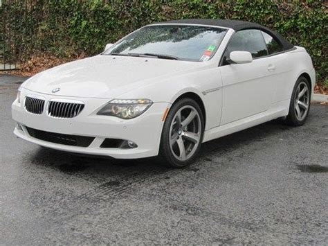 Bmw 650i Horsepower by Find Used 2008 Bmw 650i Convertible 2 Door 4 8l Bluetooth
