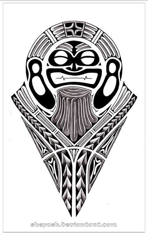 tribal tattoo god tribal god by shepush on deviantart modelo tattoos