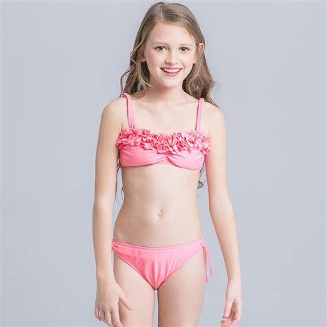 cute girls in bikinis new cute cloth flower teen girl bikini swimwear irder