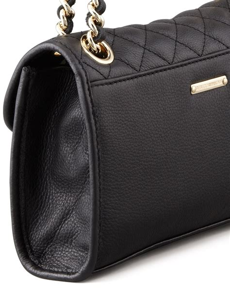 Minkoff Quilted Affair Black by Minkoff Quilted Affair Mini Shoulder Bag In Black Lyst
