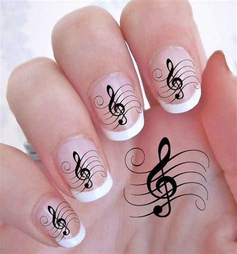 imagenes de uñas pintadas para halloween 4 im 225 genes de decoraci 243 n de u 241 as de notas musicales u 241 as