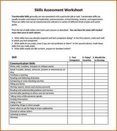 8 skills assessment template authorizationletters org