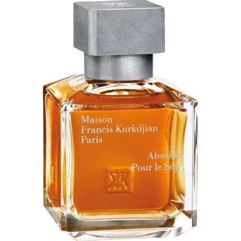 maison francis kurkdjian absolue pour le soir fragrance