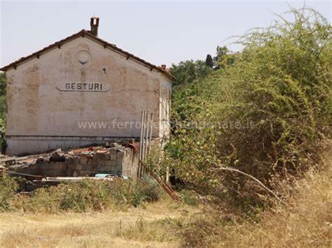 giara di gesturi ingresso ferrovia sarcidano villacidro ferrovie abbandonate