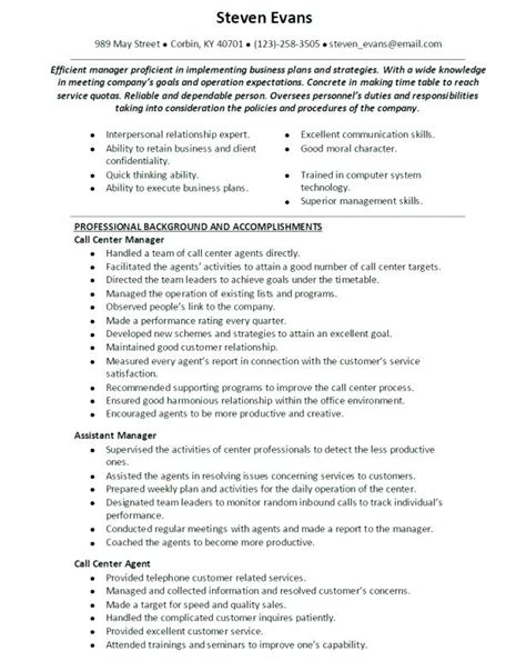 resume format sle for call center without experience cover letter for call center without experience 28 images sle resume entry level call center