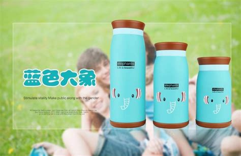 Botol Minum Karakter Big 500ml Big Water Bottle B28 colourful thermos insulated mik water bottle 500ml green jakartanotebook