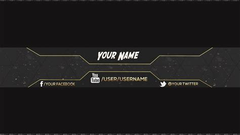 channel design template channel banner template beepmunk