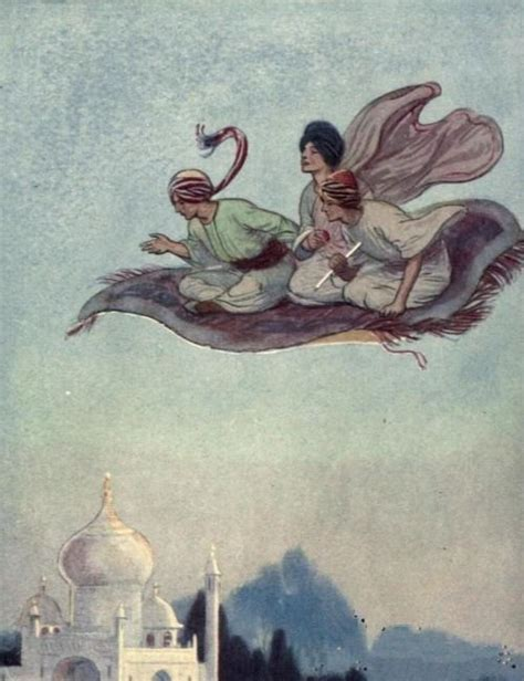 Vintage Story Carpet Classic a flying carpet illustrations and