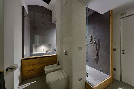 Badkamer Hout Beton by Bathroom With Concrete Concrete Cire And Wood