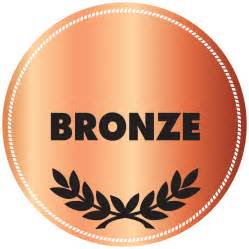 bronze color donate bronze