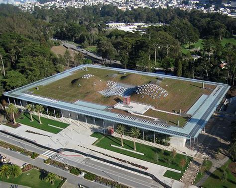 San Francisco Institute Of Architecture Green Mba by California Academy Of Sciences American Hydrotech Inc