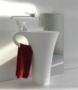modern bathroom sinks with unusual design home designs super modern and slim bathroom sinks by omvivo design